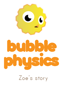 Bubble physics logo
